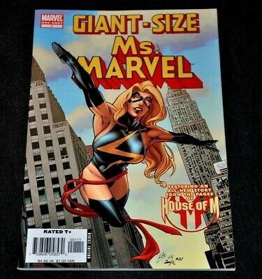 Giant-Size Ms. Marvel 1 2006 1st Goose Chewie VF/NM