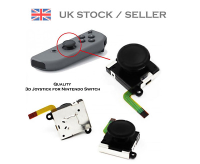 Joystick / Joy-con Thumb Stick Replacement For Nintendo Switch (Drift Fix)