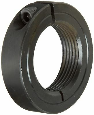 Climax Metal ISTC-037-24 Steel One-Piece Threaded Clamping Collar, Black Oxid...