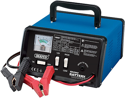 Draper BCD11 10.3 A Battery Charger, 12/24 V