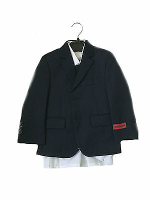 Boys Formal Suits Navy Blue 5 Piece Set,Size 1 Years To 16 Years
