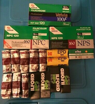 35x 120 film expired Film Job lot great lot