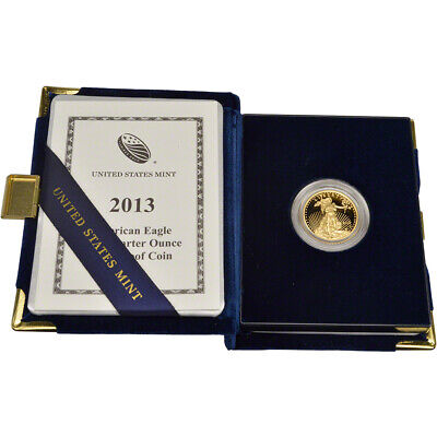 2013-W American Gold Eagle Proof (1/4 oz) $10 in OGP