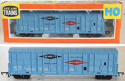 Life Like 08995 Bennett Idaho Thrall Door Box Car Ho Gauge Model Railway Trains