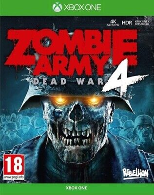 Zombie Army 4: Dead War (Xbox One) PEGI 18+ Shoot 'Em Up FREE Shipping, Save £s