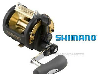 Carrete Shimano Traína 50A Tldii Doble Velocidad Fishing Carrete Two Speed