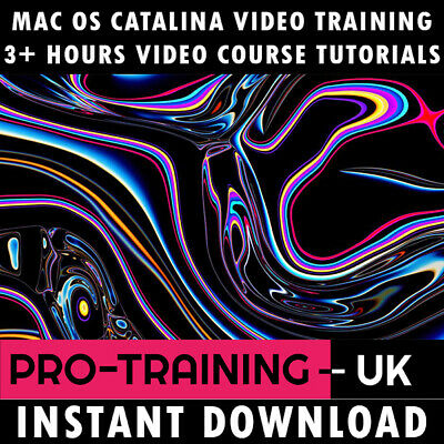Video Course macOS Catalina Pro Training Tutorial 4+ Hours - Instant Download