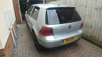 vw golf v6 4motion 2001 spares or repair