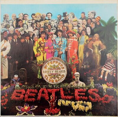 The Beatles ‎– Sgt. Pepper's Lonely Hearts Club Band -  Vinyl  LP, 1976 RE