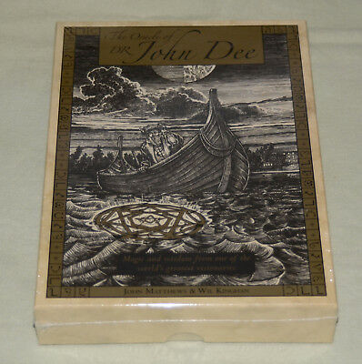 * NEW SEALED* The Oracle of Dr. John Dee: Magic and Wisdom Card Deck & Book Set