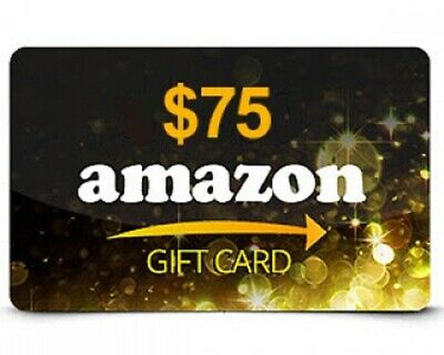 $75 Amazon Gift Card FAST SHIPPING