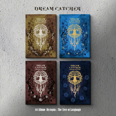 DREAMCATCHER - DystopiaThe Tree Of Language CD+3Photocards+Poster+Tracking no.