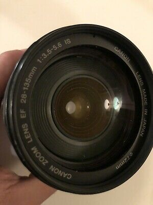 CANON 28-135mm f3.5-5.6 IS AUTO FOCUS EF MOUNT ZOOM LENS