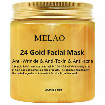 24K Gold Collagen Facial Face Mask Moisture Anti Aging Remove Wrinkles Cream