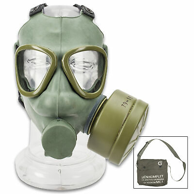 REAL Serbian Military Gas mask M1 respiratory army surplus emergency respirator