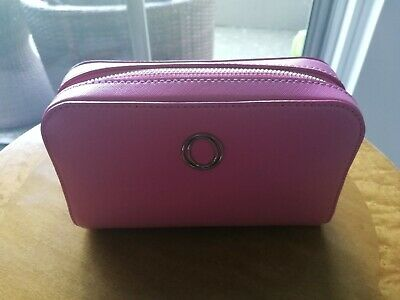 Oroton Pink Pouch Cosmetic Bag - New With Tags