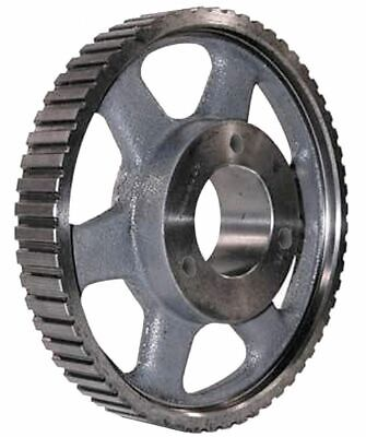 "Power Drive Pulley, H, 72 Teeth, 1""W  Steel  Timing, Up to 20 HP 72HQ100 72HQ100"