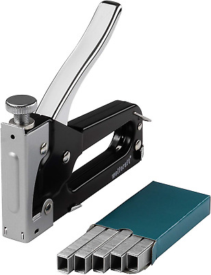 Wolfcraft 7088000 Tacker Set Tacocraft Type 053 Stapler with Metal Housing for