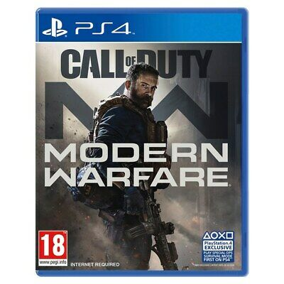 Call of Duty Modern Warfare MW PS4 Brand New Fast Delivery!