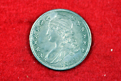 Estate  Find 1834  Capped Bust Half Dollar  #D13831