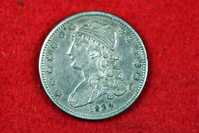 Estate  Find 1834 Capped Bust Quarter  #D13745