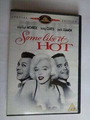 Some Like It Hot (DVD, 2001) Special Edition  Marilyn Monroe