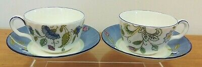Pair of Minton Haddon Rise Cups and Saucers (D5)