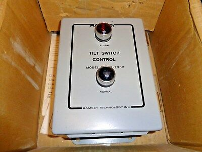 Thermo Ramsey PRO LINE 230V AC TILT SWITCH CONTROLLER 20-38-230 ( 2038 )