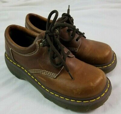 Doc Martens 3A80 Mens 8 US Leather Shoes Dr Marten Martin Womens 9