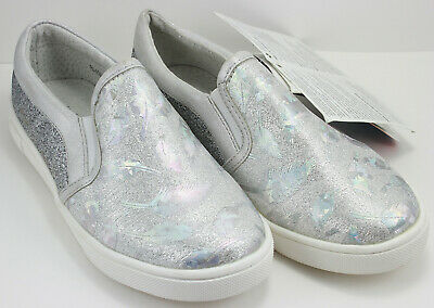 Cienta Unisex Blue Gray Slip On Sneakers Size 35C US Size 3.5 Made in Spain NWT
