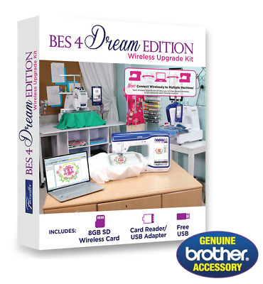 Brother BES 4 BES4 Embroidery Lettering Software Wireless Expansion Kit | NEW