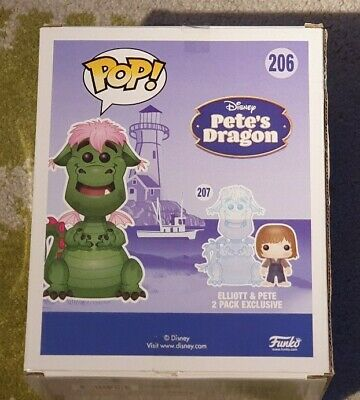 SCE EXCLUSIVE PETE/'S DRAGON PETE /& ELLIOT 2 PACK POP VINYL FIGURE FUNKO