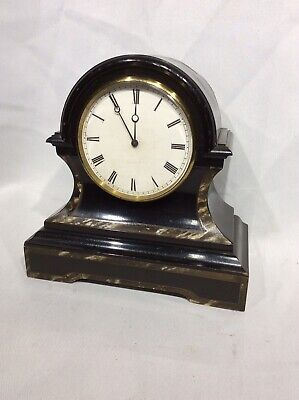 Antique Brevete V.A.P S.G.D.G Tick Tac Timepiece Mantle Clock As Found