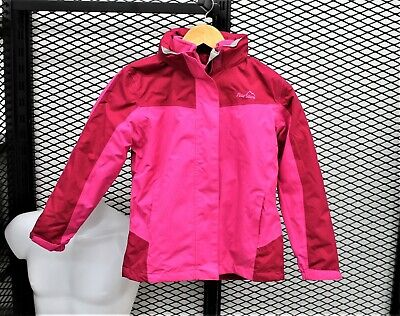 Kids Girls Peter Storm Beat The Storm 2 3 In 1 Jacket Age 9-10 Dark Pink Used