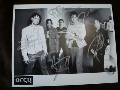 Orgy Hand Signed Publicity Photo All Original Members Autographed 2004 Autograph