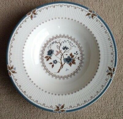 Royal Doulton Old Colony Soup Pasta Bowl Plate With Rim 22.7cm