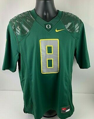 Nike Oregon Ducks Custom Football Jersey White