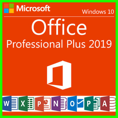 Microsoft Office Professional Plus 2019 ✔️ Licence Key Product-Fast Delivery