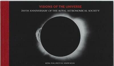 Great Britain 2020 Visions Of The Universe Prestige Stamp Booklet