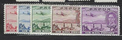 Papua Papouasie Air Mail Postage n° 10/14* MH* 1939-41