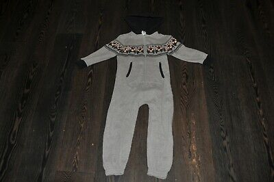 BOYS NEXT GREY ANGRY BIRDS ALL IN ONE ONSIE SIZE 4 YEARS not Gerber