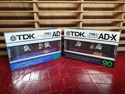 Tdk Ad/Ad-X 90 : 1986 : Made In Japan : New & Sealed