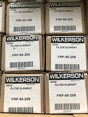 Lot Of 6 New Wilkerson Frp-95-209 Element Kit Frp95209