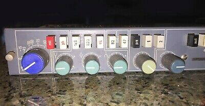 NEVE 34128 channel strip (from 542 console)