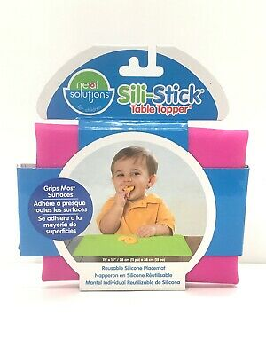 """Neat Solutions Sili-Stick Table Topper 11/"""" X 15/""""  Red"""