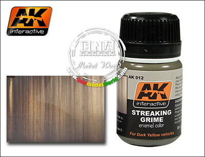 AK-Interactive Streaking Grime (35ml) for All Vehicles #AK-012