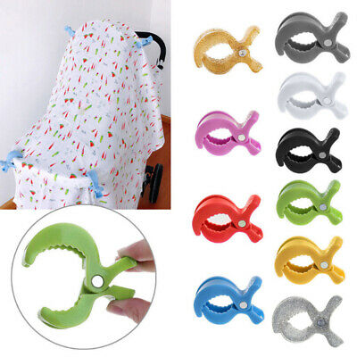 Blanket Clip Hook Baby Car Seat Access Toy Lamp Pram Stroller Peg To Hook Cover