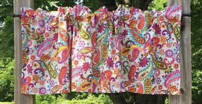 Paris France Pink /& Gray Glitter Eiffel Tower Handcrafted Curtain Valance a1//1