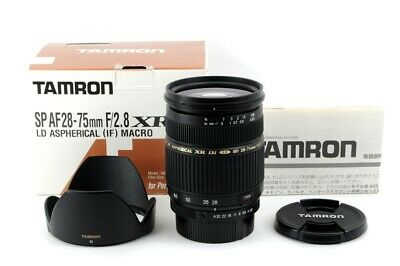TAMRON SP 28-75mm F2.8 XR Di LD MACRO A09P For PENTAX K-Mount From Japan #3515