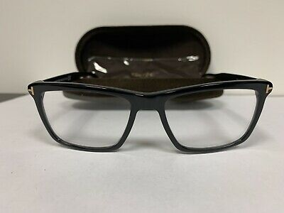 Tom Ford FT5407 001 Glasses Frame w/ Case and Cleaning Cloth - 54-16-145 - New!